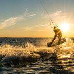 Kitesurfing and Windsurfing in Prasonisi